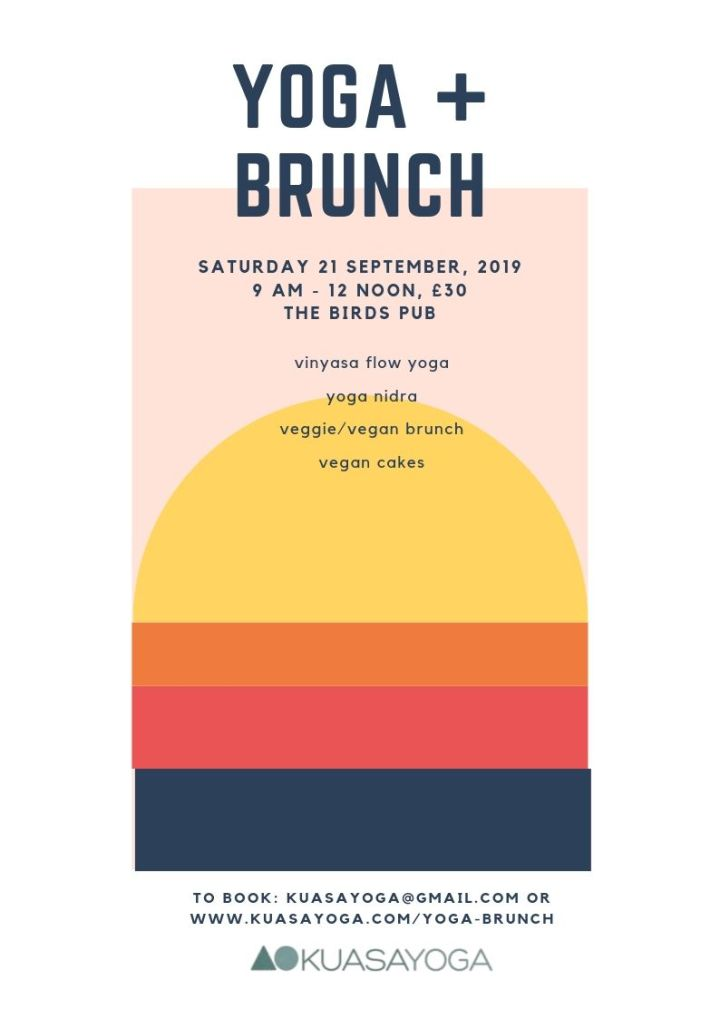 Flyer size a4 yoga + brunch sept 19
